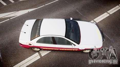 Dinka Chavos Paramedic для GTA 4 вид справа