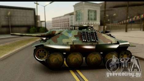 Jagdpanzer 38(t) Hetzer Chwat для GTA San Andreas вид справа