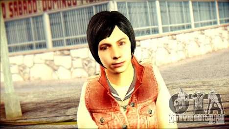 Sofia Child Skin для GTA San Andreas третий скриншот