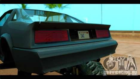 Monster Buffalo для GTA San Andreas вид сзади
