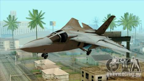 SU-27SK Indonesian Air Force для GTA San Andreas вид сзади