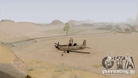 EMB T-6A Texan II US Navy для GTA San Andreas