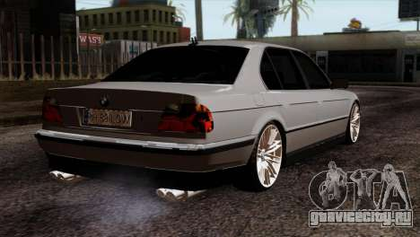 BMW 750iL E38 Romanian Edition для GTA San Andreas вид слева