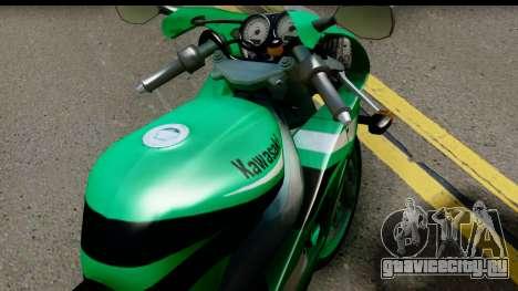 Kawasaki ZX-9R для GTA San Andreas вид справа