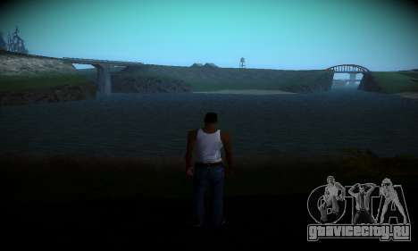 Ebin 7 ENB для GTA San Andreas второй скриншот