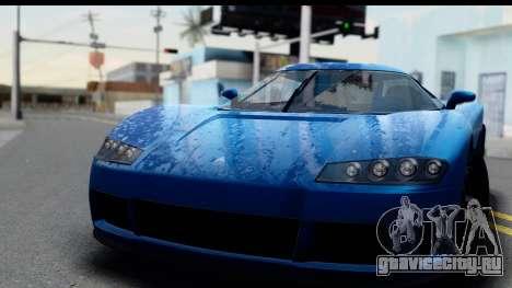 GTA 5 Overflod Entity XF IVF для GTA San Andreas вид сзади слева