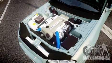 Nissan Skyline R34 GT-R M-Spec Nur для GTA 4 вид изнутри