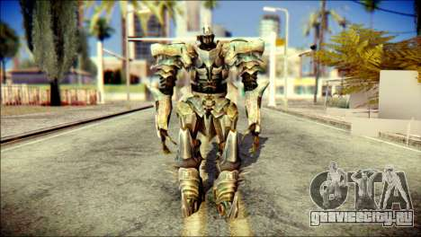 Grimlock Skin from Transformers для GTA San Andreas