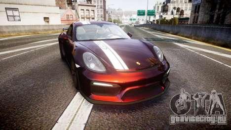 Porsche Cayman GT4 2015 для GTA 4