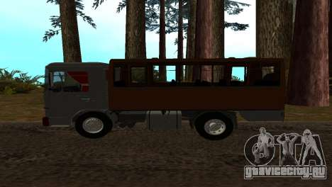 Roman Bus Edition для GTA San Andreas вид слева