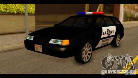 Stratum Police Highway v1.0 для GTA San Andreas