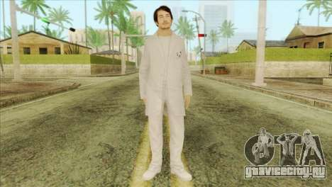 Takedown Redsabre NPC Scientist для GTA San Andreas