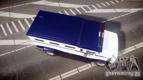 GTA V Brute Police Riot [ELS] skin 3 для GTA 4 вид справа