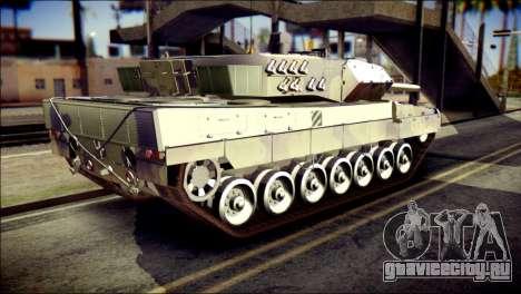 Leopard 2A6 PJ для GTA San Andreas вид слева