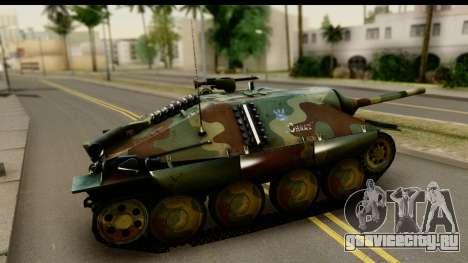 Jagdpanzer 38(t) Hetzer Chwat для GTA San Andreas вид слева