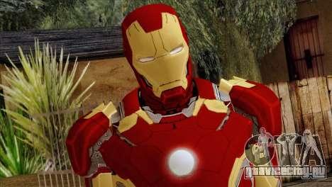 Iron Man Mark 43 Svengers 2 для GTA San Andreas третий скриншот