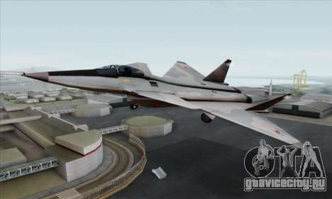 MIG 1.44 Flatpack Russian Air Force для GTA San Andreas