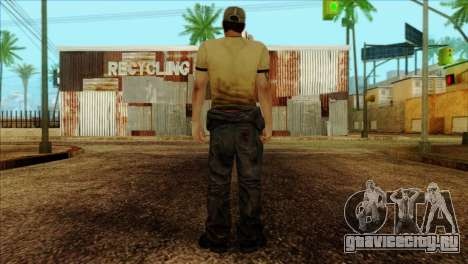 Ellis from Left 4 Dead 2 для GTA San Andreas второй скриншот