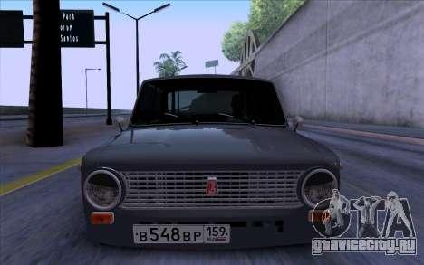 ВАЗ 2101 БПАN для GTA San Andreas вид сзади слева