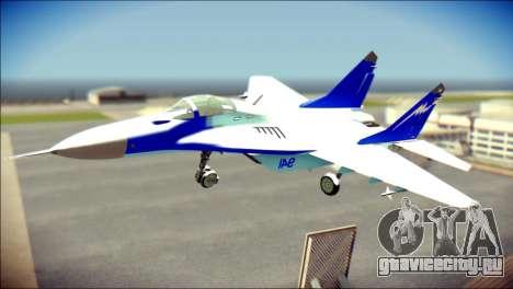 Mikoyan-Gurevich MIG-29K для GTA San Andreas
