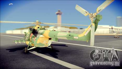 Mil Mi-8 Polish Air Force для GTA San Andreas вид слева