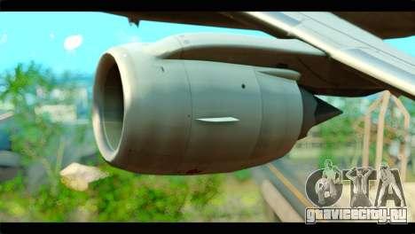 Embraer 190 Lion Air для GTA San Andreas вид справа