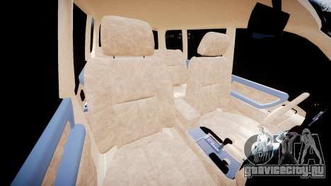 Toyota Land Cruiser 100 UEP [ELS] для GTA 4 вид изнутри
