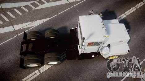 Mack R700 для GTA 4 вид справа