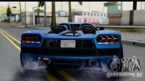 GTA 5 Overflod Entity XF IVF для GTA San Andreas вид изнутри