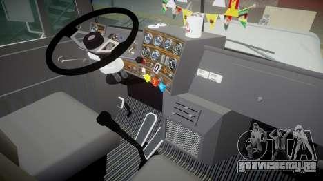 Mack R700 для GTA 4 вид сзади