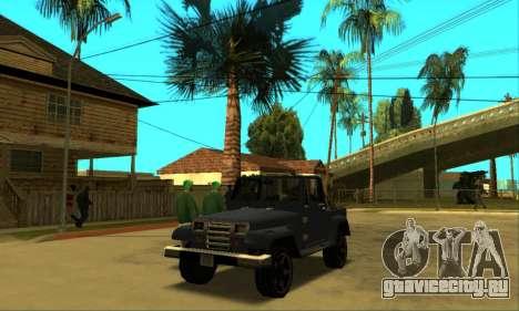 Mesa Final для GTA San Andreas вид изнутри