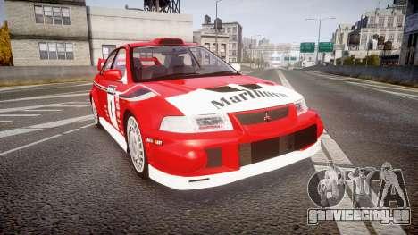 Mitsubishi Lancer Evolution VI 2000 Rally для GTA 4