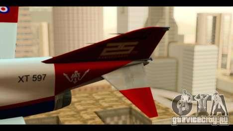 McDonnell Douglas F-4E Phantom II для GTA San Andreas вид сзади слева