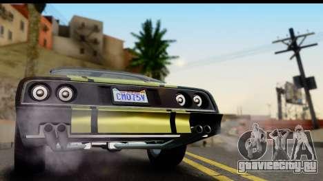 GTA 5 Imponte Phoenix IVF для GTA San Andreas вид справа