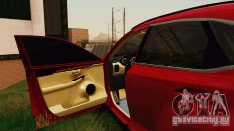 Lexus NX200T v2 для GTA San Andreas вид сбоку