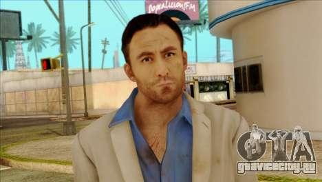 Nick from Left 4 Dead 2 для GTA San Andreas третий скриншот