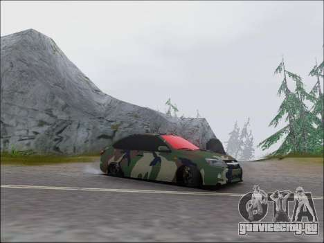 Lada Granta Liftback Coupe для GTA San Andreas вид слева