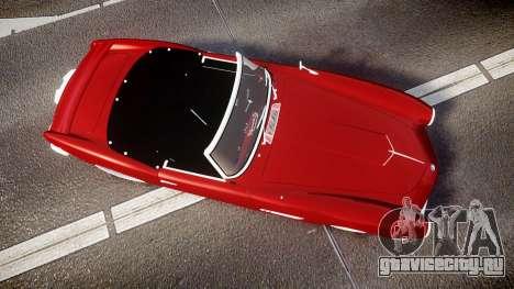 BMW 507 1959 Stock Hamann Shutt VX4 [RIV] для GTA 4 вид справа