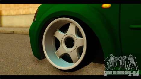 Dacia Logan Stance для GTA San Andreas вид сзади слева