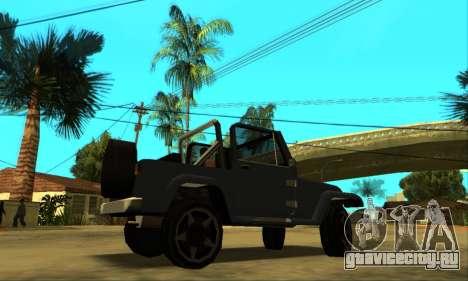 Mesa Final для GTA San Andreas вид сбоку