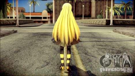 Lilly from Vocaloid для GTA San Andreas второй скриншот
