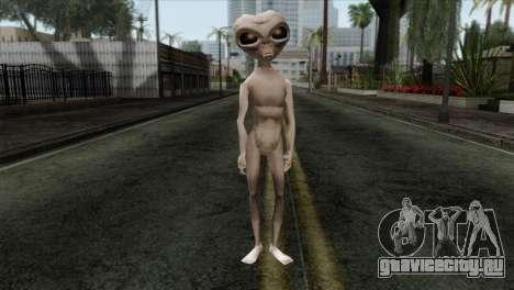 Zeta Reticoli Alien Skin from Area 51 Game для GTA San Andreas