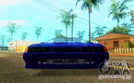 Elegy WorldDrift v1 для GTA San Andreas вид слева