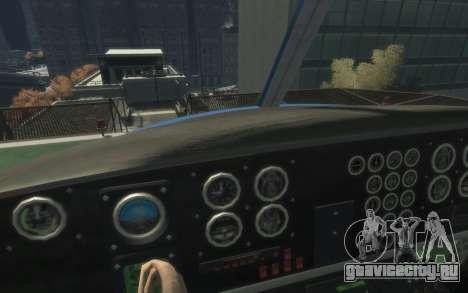 GTA III Police Valkyrie HD для GTA 4 вид слева