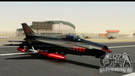 MIG-21F Fishbed B URSS Custom для GTA San Andreas