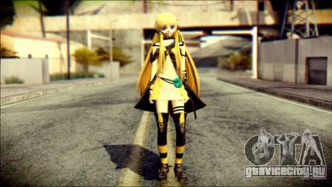 Lilly from Vocaloid для GTA San Andreas