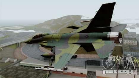 F-16C USAF CAS-EURO для GTA San Andreas вид слева