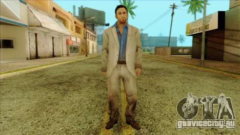 Nick from Left 4 Dead 2 для GTA San Andreas