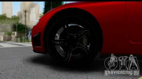 GTA 5 Overflod Entity XF IVF для GTA San Andreas вид справа