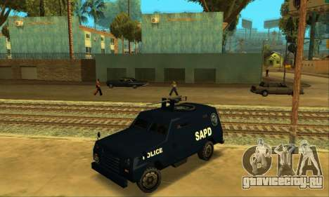Beta FBI Truck для GTA San Andreas